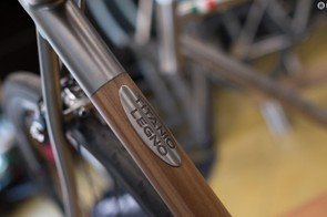 The Titanio Legno is the latest introduction to Nevi's current six-bike range