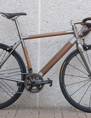 This particular bike — the only one currently in existence — tips the scales at 8.5kg