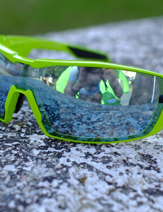 KOO Open glasses are available in other colours if you're not a fan of green
