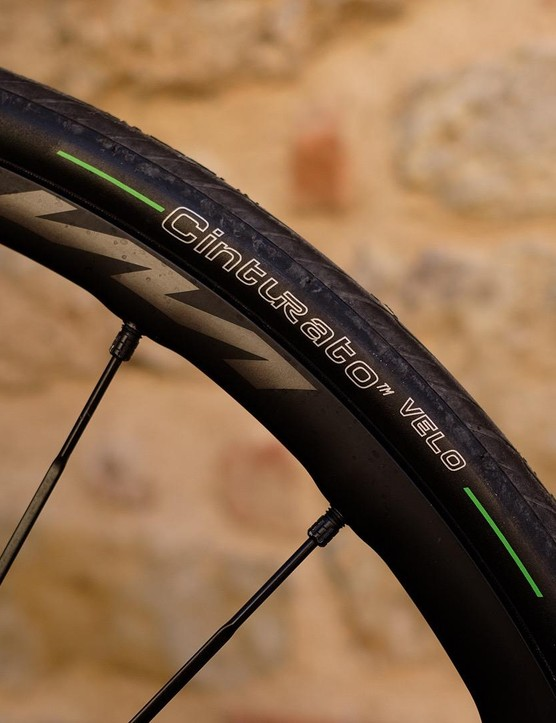 The Cinturato is Pirelli's first tubeless-ready tyre