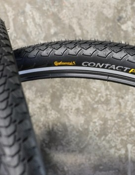 Continental's Contact Plus tyres are known for their impressive puncture resistance