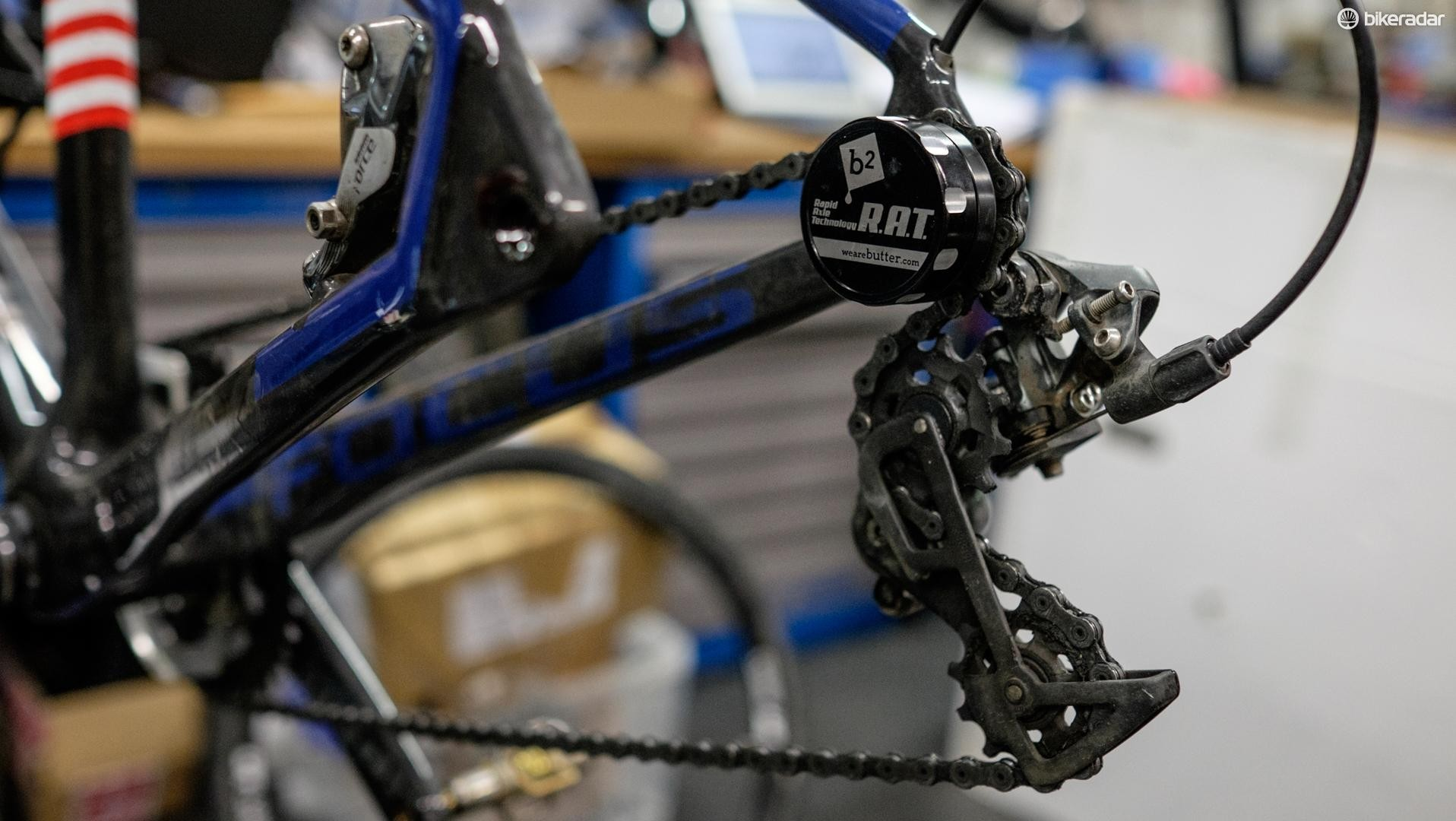 Butter's RAT-specific chain keeper is the first for Focus' proprietary locking system