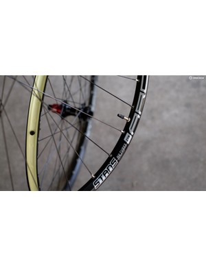We can't wait to punish this Stans No Tubes Arch S1 Wheelset