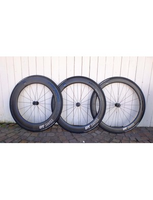 The ARC wheels come in 80, 62 and 48mm rim depths