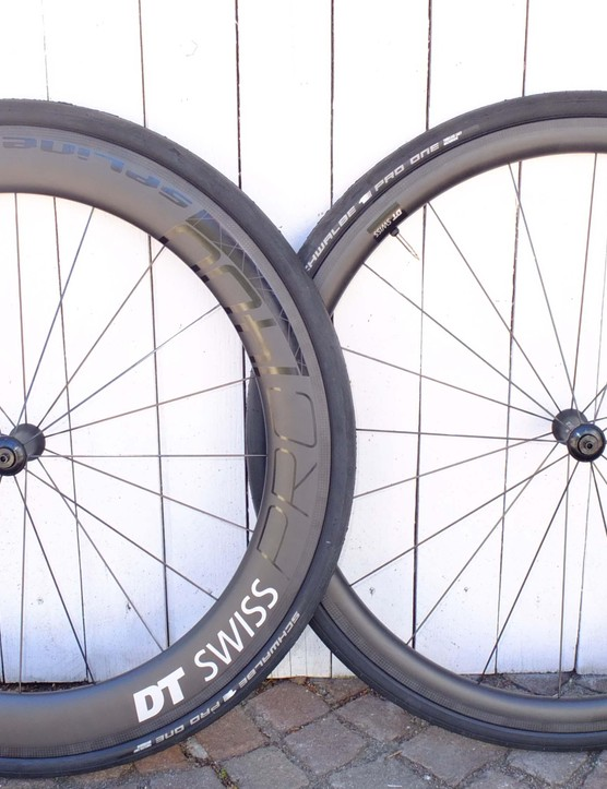 The new PRC wheels come in 65 and 35mm rim depths