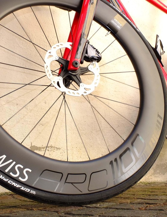 DT Swiss and Swiss Side teamed up for the new DT Swiss ARC wheels