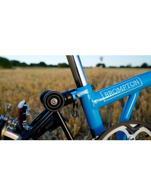 The Brompton's elastomer suspended rear end provides useful comfort without stealing too much efficiency