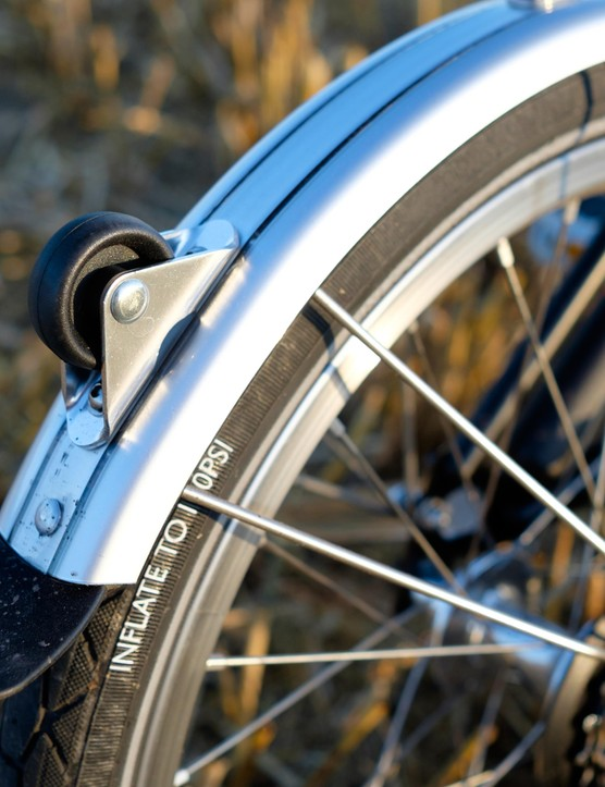 The mudguard option box is one that we think is well worth ticking