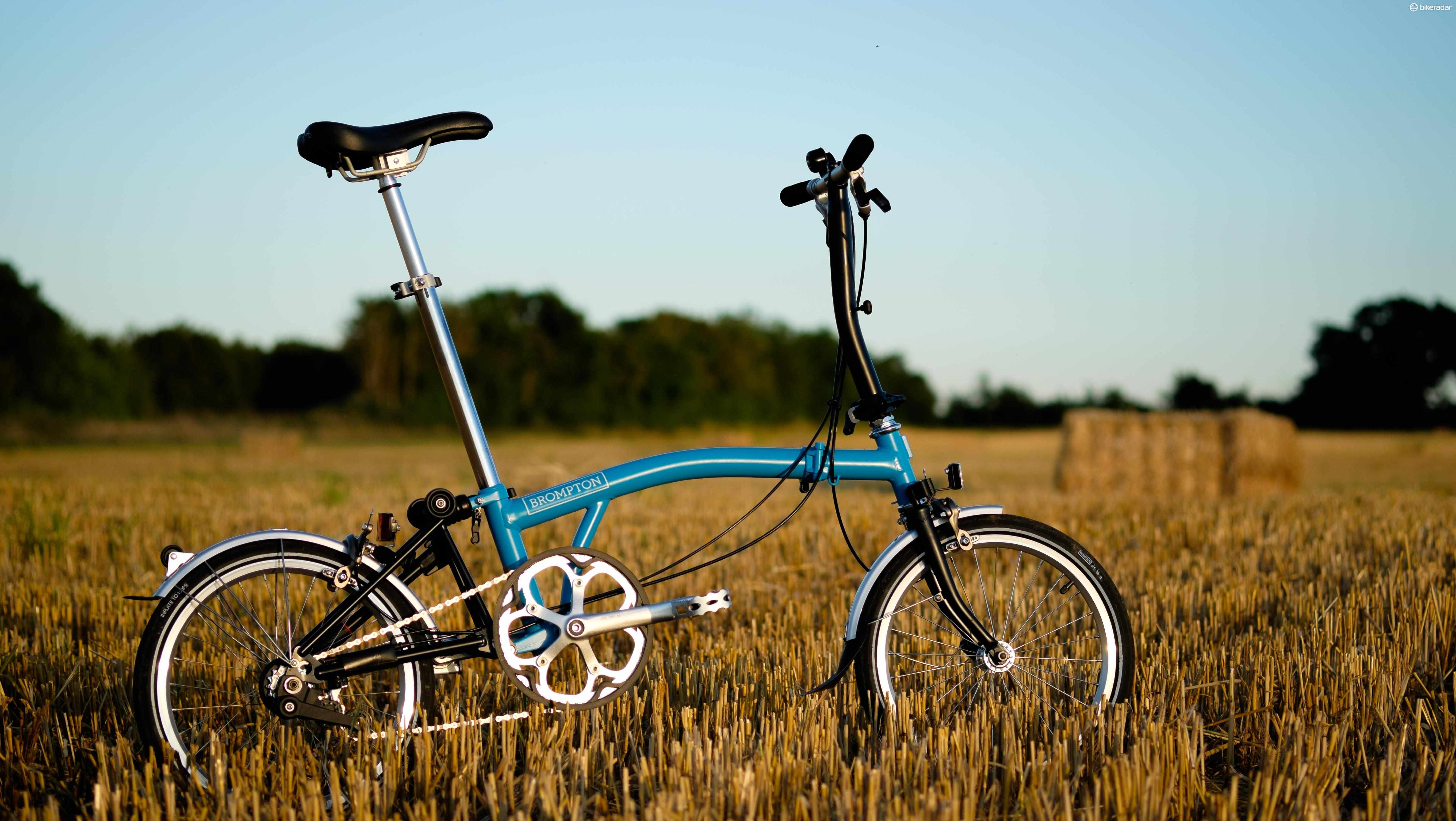 The Brompton S2L is just one of a huge number of configurations that Brompton offers its customers