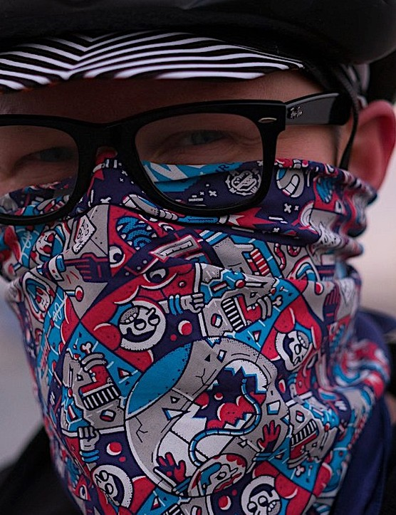 The included bandana features matching Enisaurus artwork