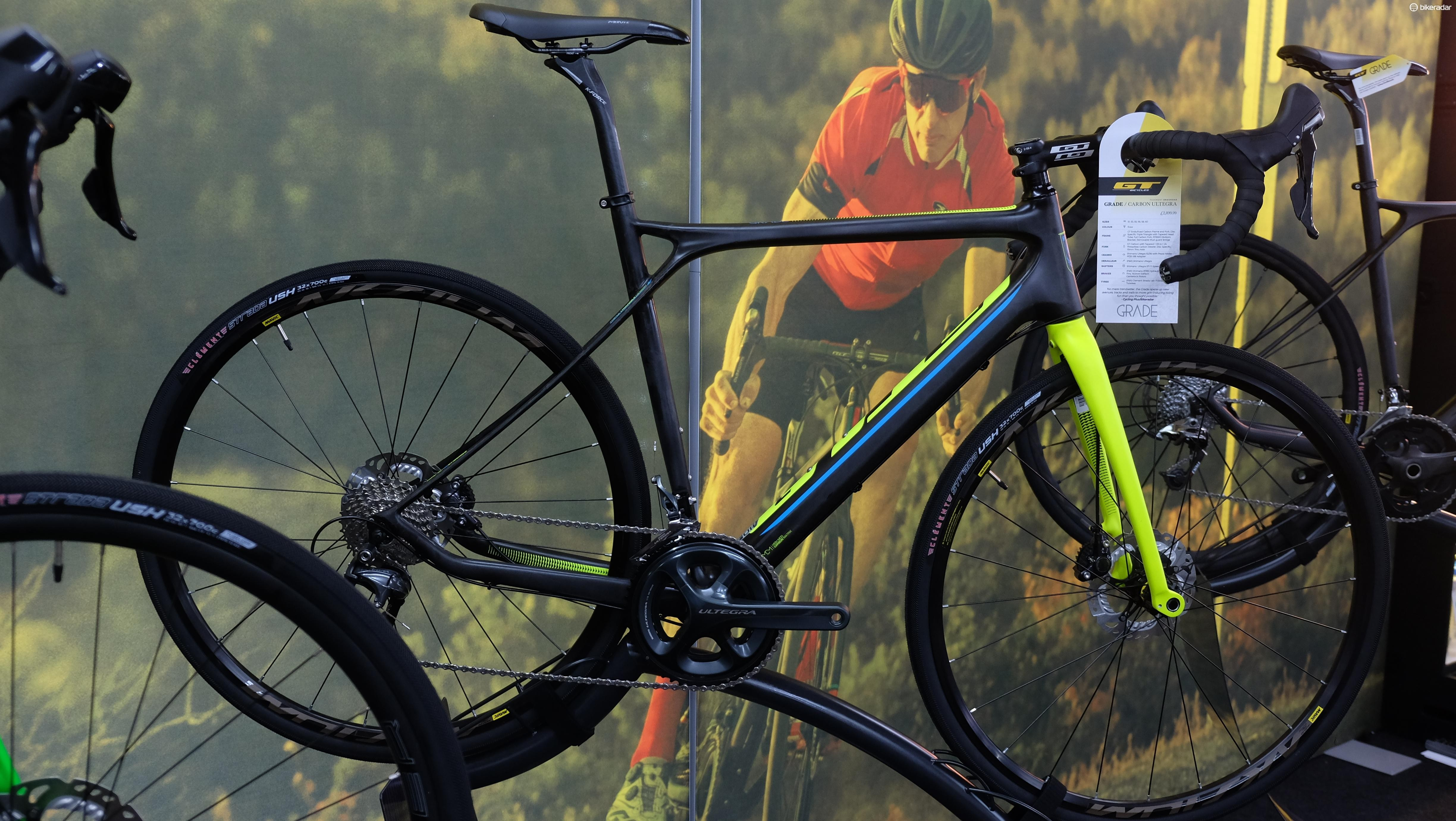 The 2017 GT Grade Carbon Ultegra will retail for £2,899