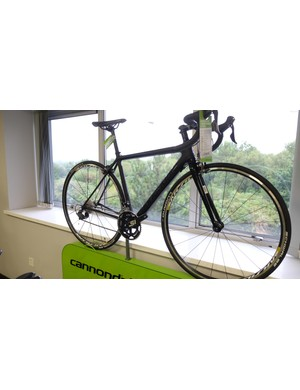 The Cannondale SuperSix EVO Women's Ultegra road bike; stealthy and speedy