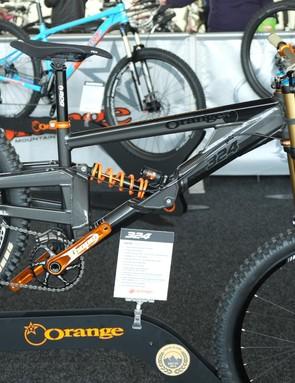 Orange's 324 downhill bike is unchanged for 2016