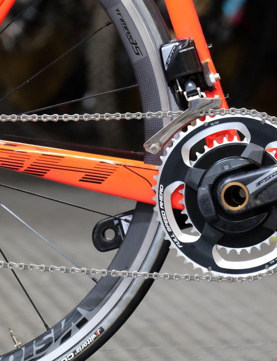 We are looking forward to putting FSA's first drivetrain through its paces