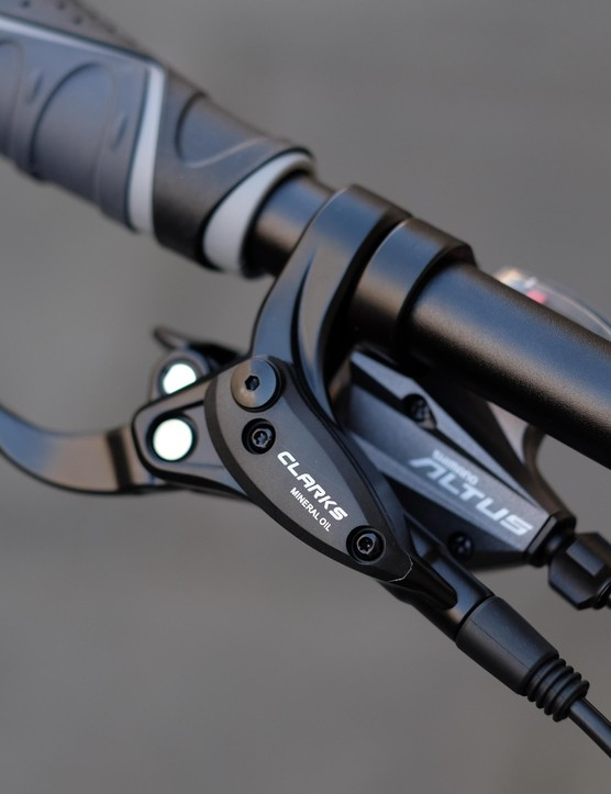 Clarks M2 hydraulic brakes provided consistent, predictable and powerful stopping