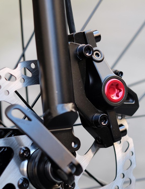 We're a fan of Clarks M2 hydraulic brakes