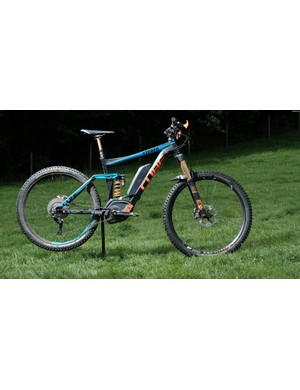 Notice anything unusual about this e-MTB?