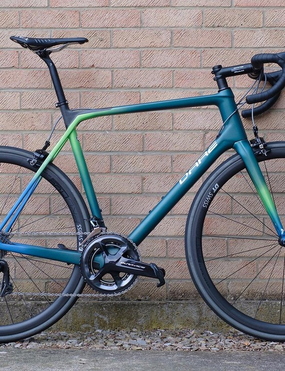 MR1s builds start at £2,669 / €3,059 / $3,489 for a bike with Ultegra R8000 and alloy wheels from DT