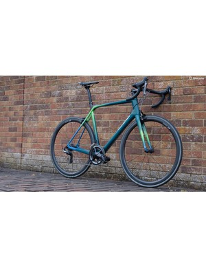 At 6.8kg this 58cm MRS1 is as light as any bike in the pro peloton