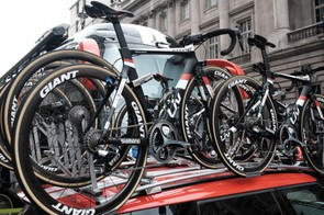 Team Sunweb is sponsored by Liv Cycling, so expect to see the Envie in action today