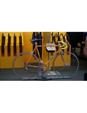This classic Merckx had the retro riders dribbling
