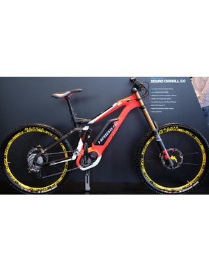 Electric downhill bikes aren't as rare a sight as they used to be