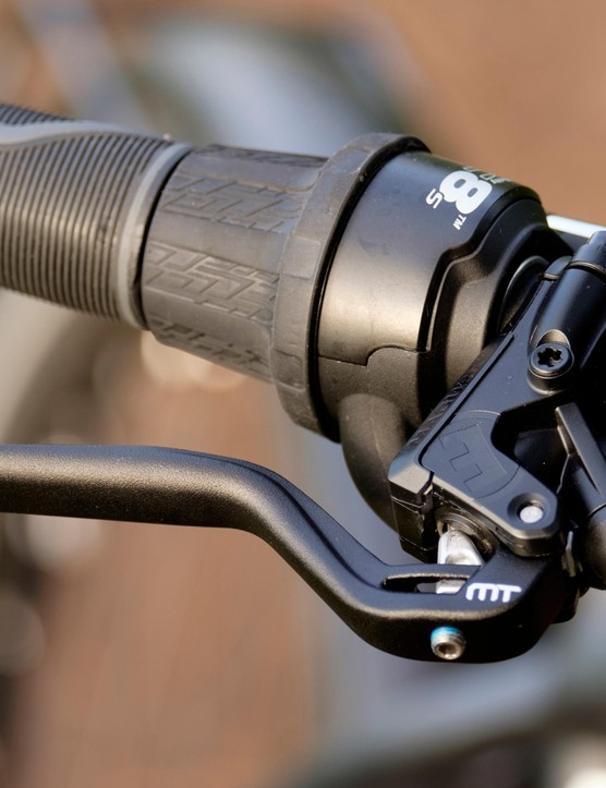 Maguar's MT5/4 brakes provide adequate stopping power