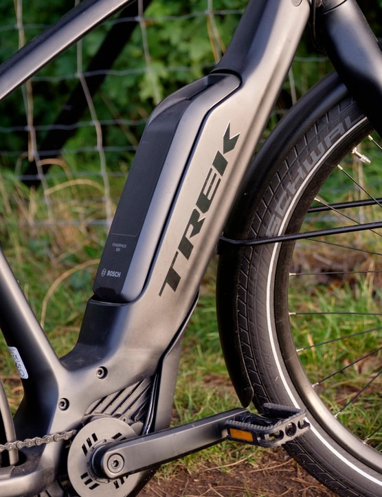 A convenient port means the battery can be charged regardless of whether it is attached to the bike or not
