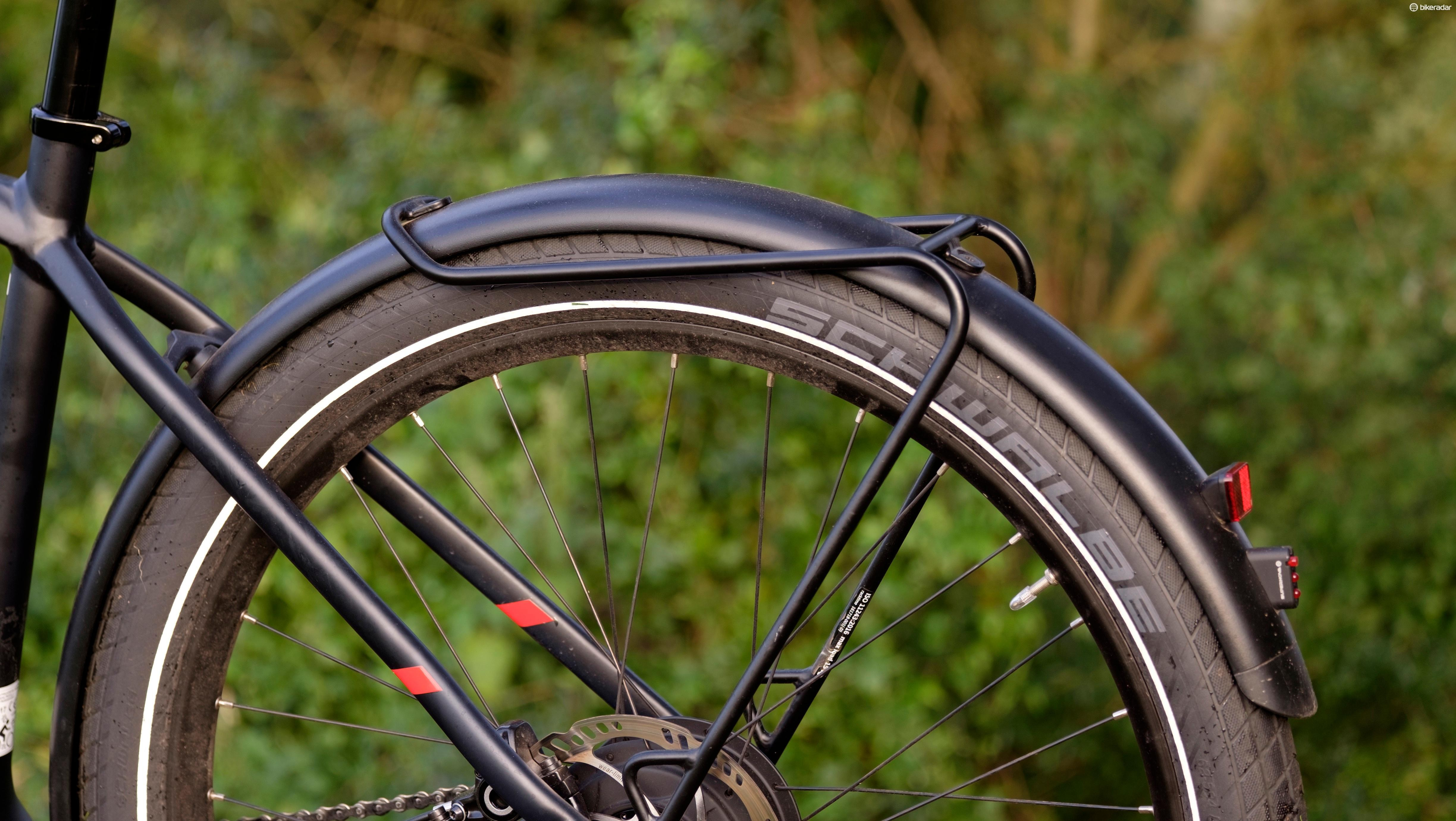 The Quality Tubus rack and mudguard combo is a real highlight