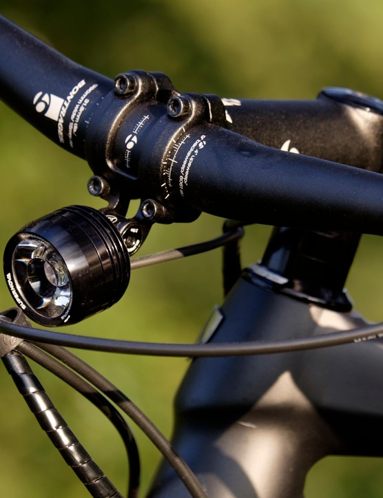 The Trek's integrated SuperNova lights are particularly impressive; they source their power from the bike's battery