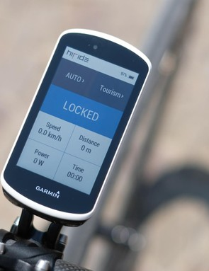 A Garmin indicated whether or not the ESAS damper was open or closed