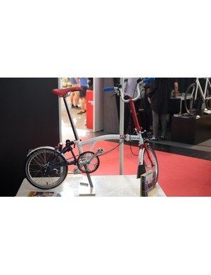 Brompton made a few of these Team GB specials for athletes to cruise about on in Rio