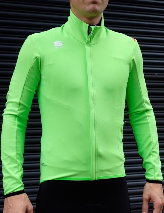 The Sportful Fiandre Light Wind jacket offers less protection, but increased breathability