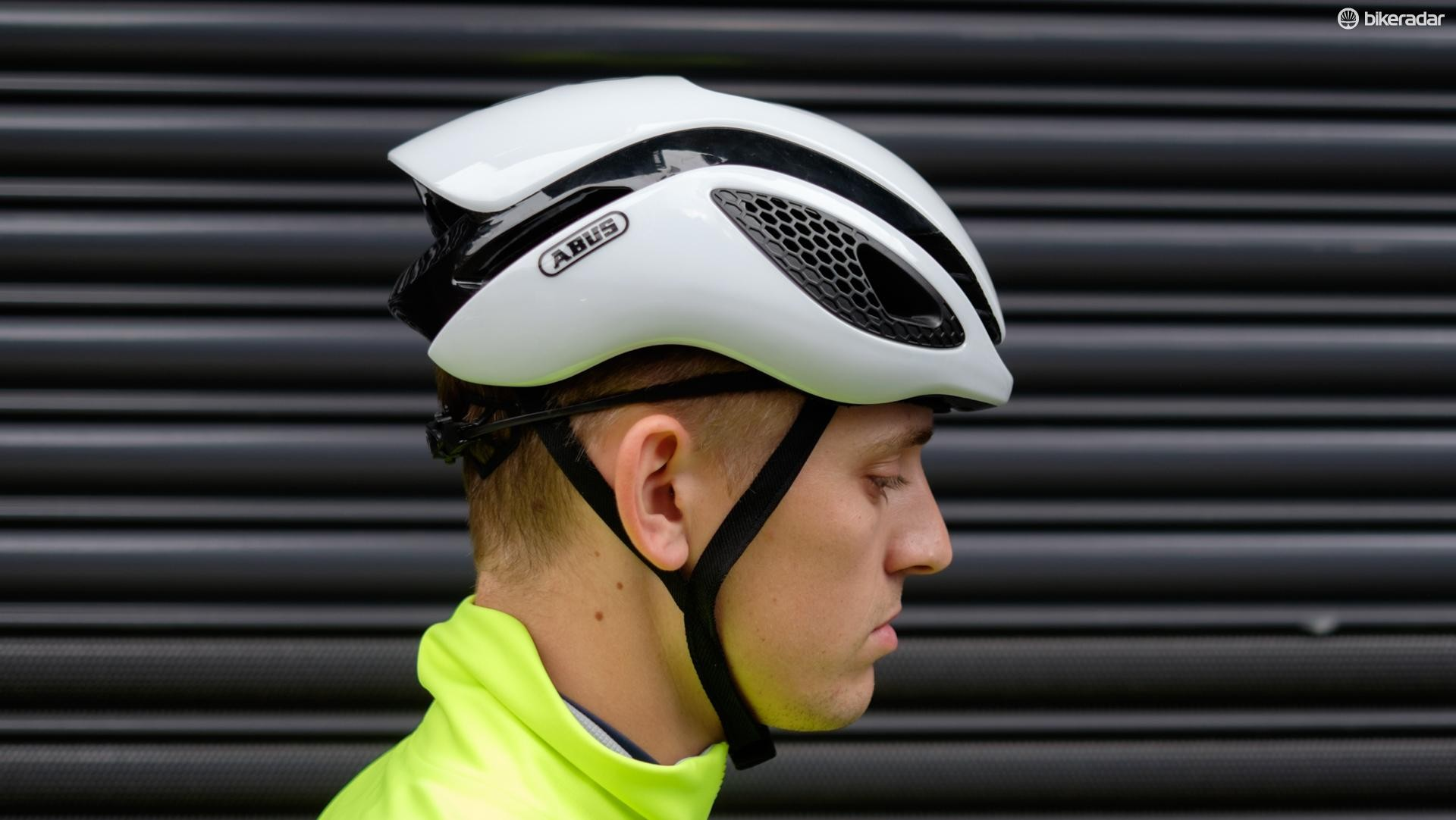 The GameChanger is designed to have good aerodynamic performance in a variety of positions