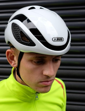 Air vents feature on the front, rear and top of the helmet