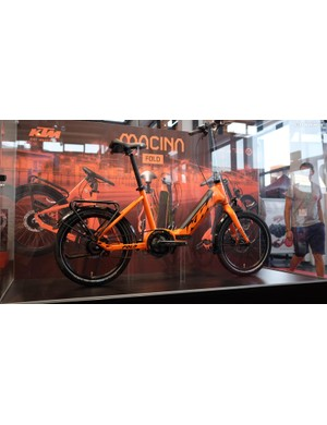 This forward-thinking folding e-bike from KTM looks promising, if you're into that kind of thing