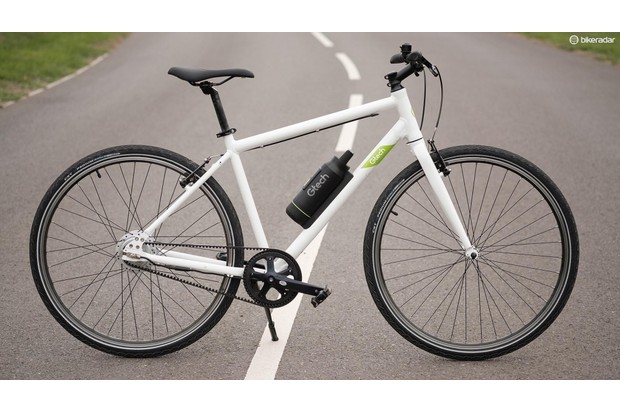 The Gtech looks like a regular bike and rides like a regular bike, albeit one with a little boost