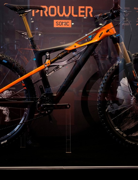 KTM's Prowler Sonic is an all-new 150mm 29er and it sure looks promising