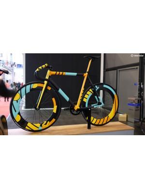 Spraybike's striking collaboration with artist Caleb Kozlowski scored our approval