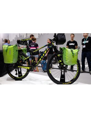 Thule's luggage range looked a little out of place on this cross country Scott