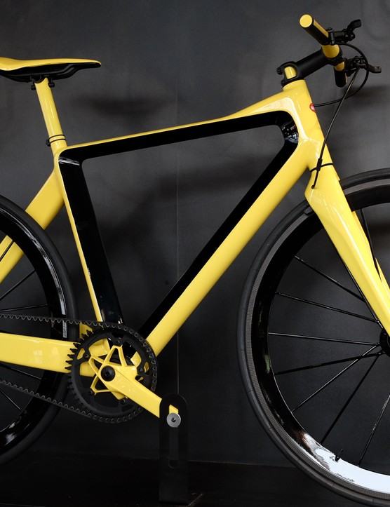The PG Bugatti bicycle claims to be the world's lightest flat-handlebar bike at 4.9kg