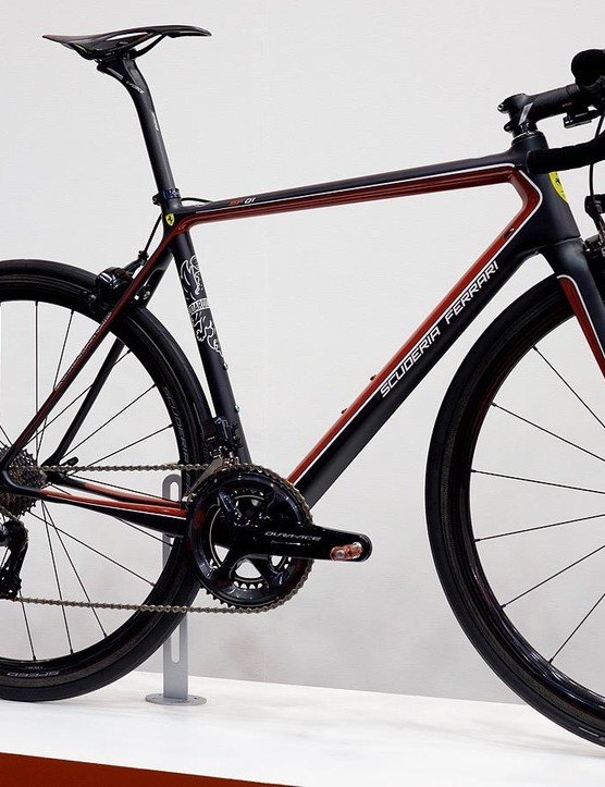 This is the second of two colour options for Bianchi's €15,000 SF01