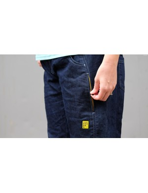 The side pocket is ideal for a phone, keys and other valuables