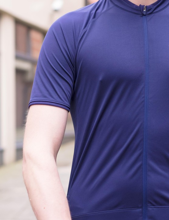 The Core Jersey has fabric and zip in tone-on-tone or matching shades