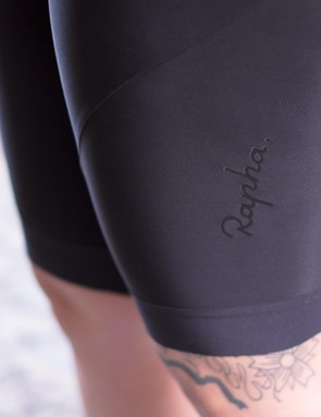 Lazer-cut lycra hems with silicone gripper dots keep the legs in place