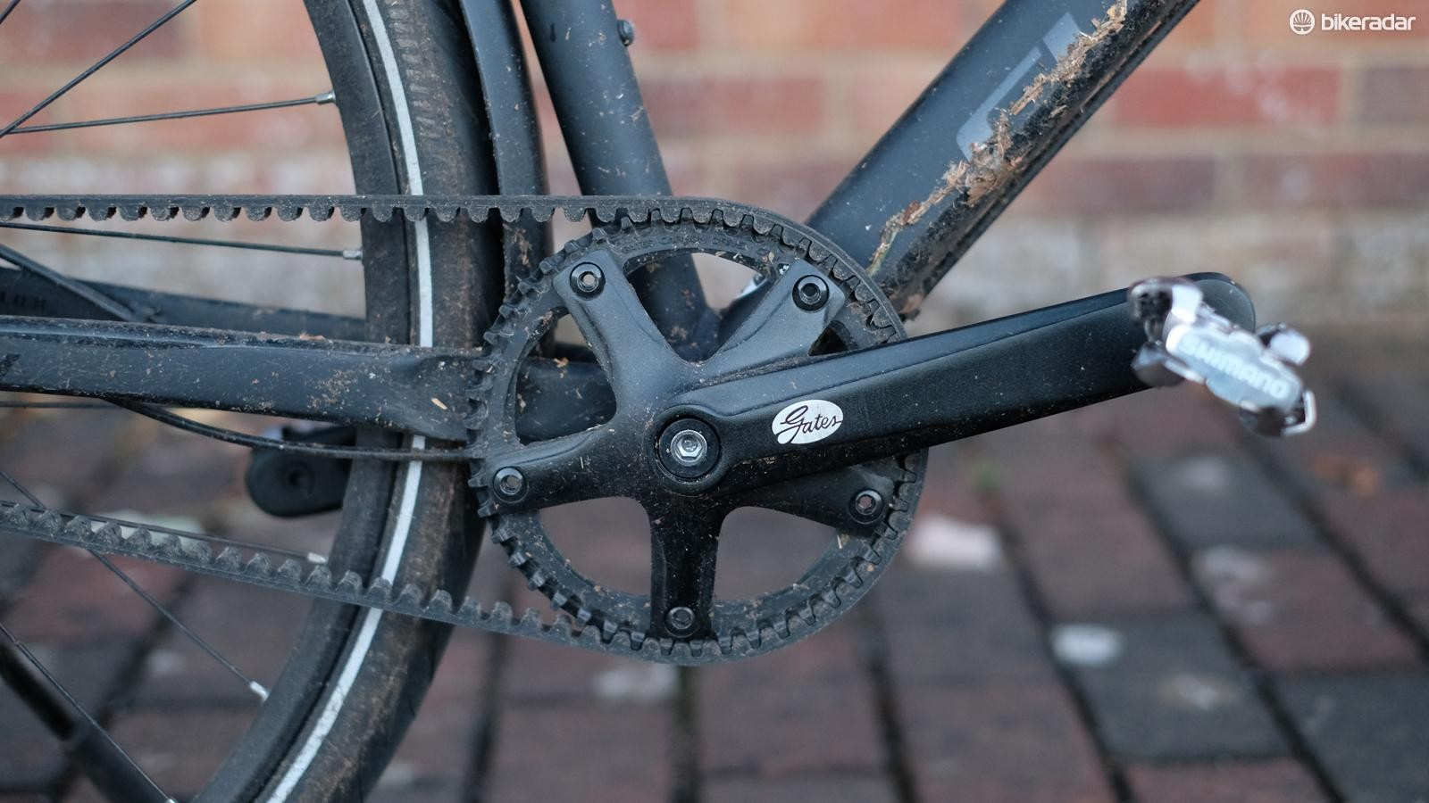 No rusty chain or oily legs