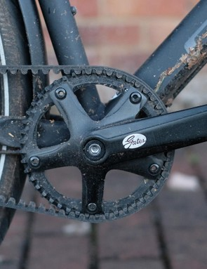 No rusty chain or oily legs