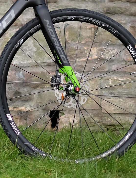 DT Swiss' R23 Spline wheelset: tubeless-ready, disc-specific and with a generous 18mm internal width