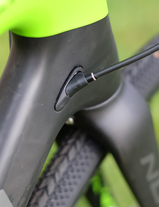 Norco's internal cable routing is a proven design that keeps things quiet and clean