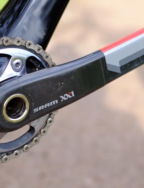 SRAM's XX1 transmission provided all the range we wanted